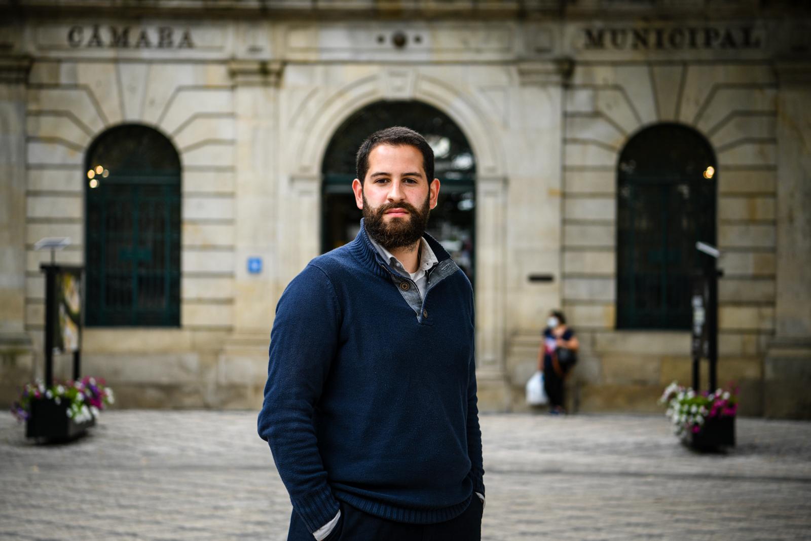 Diogo Chiquelho candidato às autarquicas pelo PAN