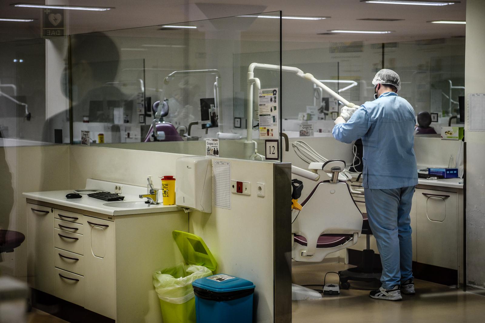 Fotos genérica da clínica dentária da Universidade Católica Portuguesa em Viseu