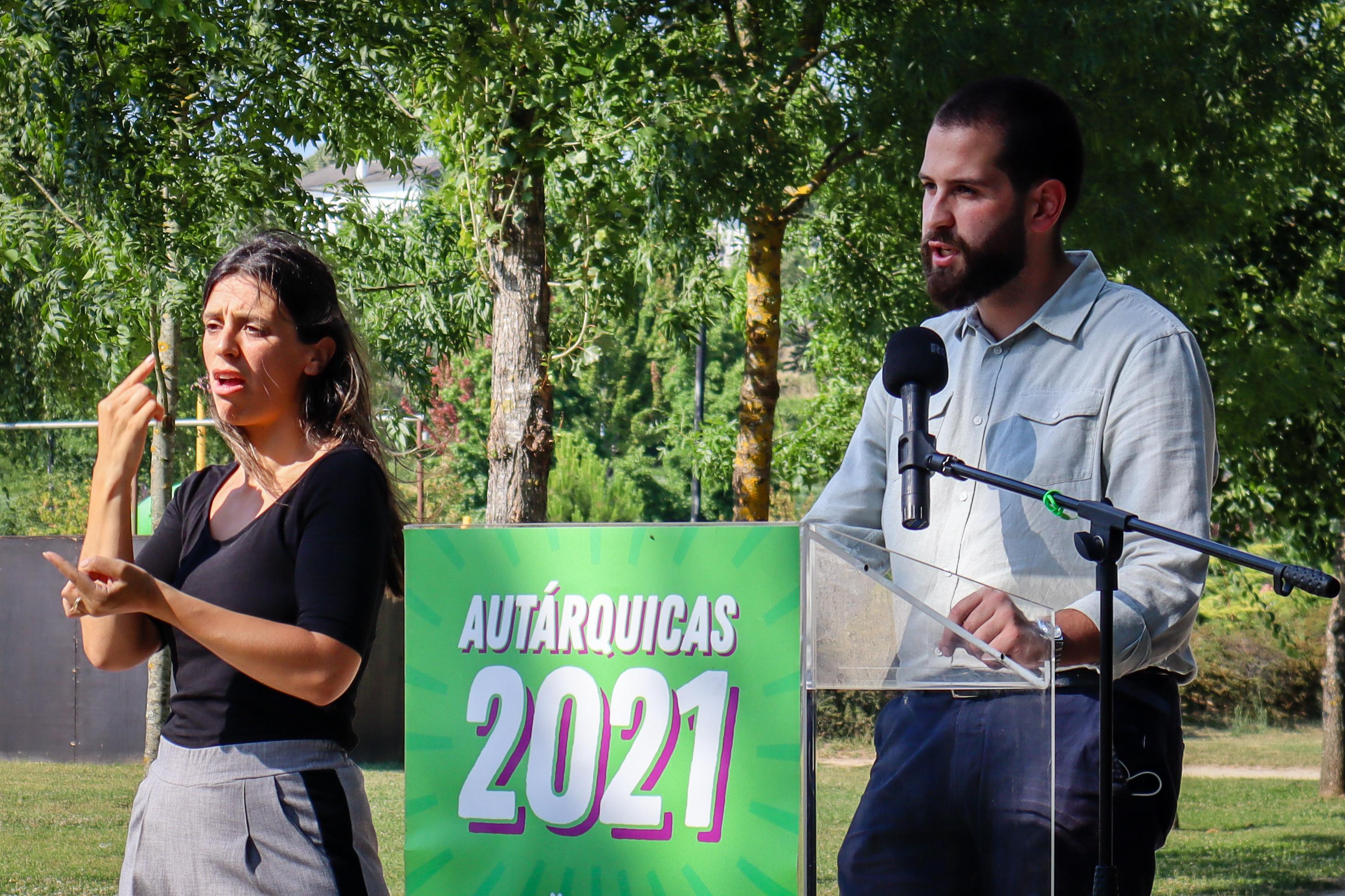 Apresentação do candidato Diogo Chiquelho do PAN às autárquicas 2021